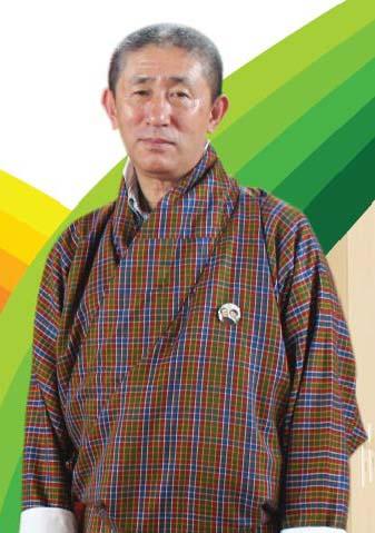 Commissioner Kezang Jamtsho