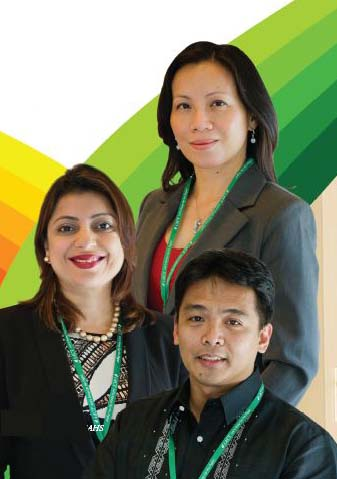 Lorraine Wang-Reyes, Sofia Shakil and Edzen Garcia ed